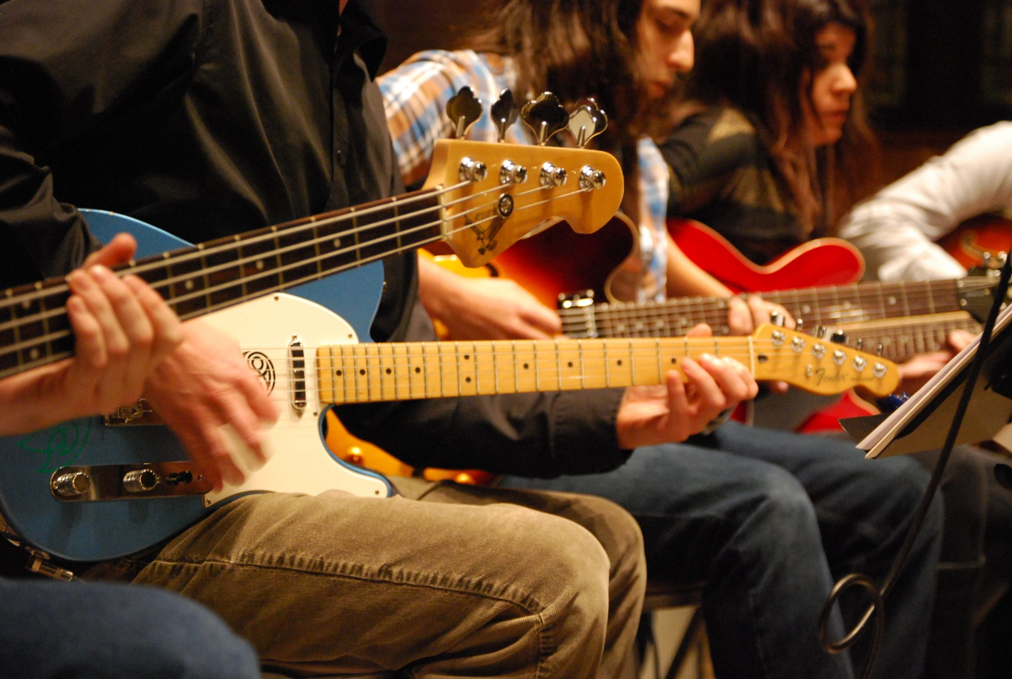 Montavilla Guitar Studio ensembles performing at TaborSpace