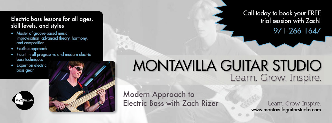 Electric Bass with Zach Rizer