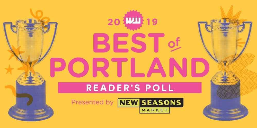WE ARE NOMINATED FOR BEST IN PORTLAND 2019! PLEASE VOTE!